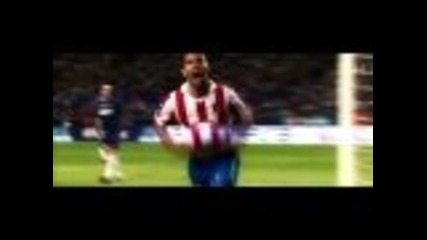 Sergio Kun Aguero 2010/2011 - Atletico Madrid Hd