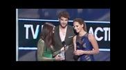 Nina Dobrev Wins Pca for Tv Drama Actress