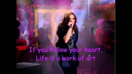 Work of art-demi Lovato-една страхотна песен!