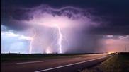 Епическа гръмотевична буря в Джорджия