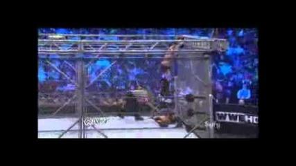 Randy Orton vs Cristian (steel Cage match!)