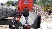 "Multitek 1620 Ss Firewood Processor 47 hp Yanmar, 40"" Insert Tooth Sawblademultitek 1620 Сс дърва пр"