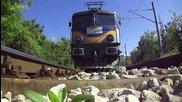 Бжк с локомотиви 40 0797 и 87 019 през Шумен
