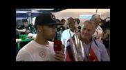 2014 F1 Abu Dhabi Gp - Lewis Hamilton интервю след състезанието