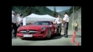 Full Hd: Mercedes Sls Amg - Extreme Looping! Werbespot / Spot im Tunnel! Top Gear Style