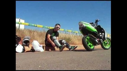 ruben sevilla stunt video promocion 2009 yamaha jog