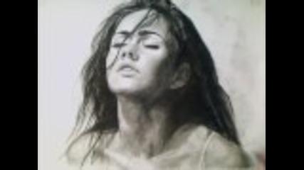 Рисунка на Megan Fox