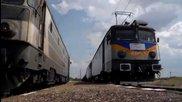 2x 40-ки на влак 30580 транзит през Христо Даново