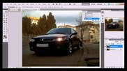 Слагане на лупи на Peugeot 306 чрез Photoshop :)