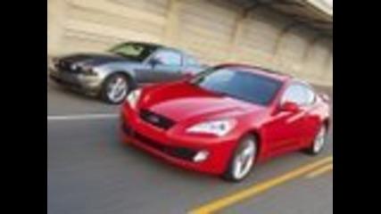 Drag Race - Genesis Coupe, 370z, Mustang Gt