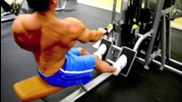 Seated One-arm Cable Pulley Rows - Back workout - Marcos Silva Fitness -