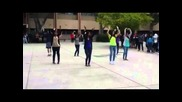 Арабския Boshret Kheir Flashmob Dance in Los Angeles