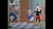 Mickey Mouse Cartoon - The Moving Day (1936) (co-starring Donald and Goofy)