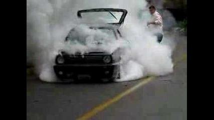 Golf 2 Turbo Burnout