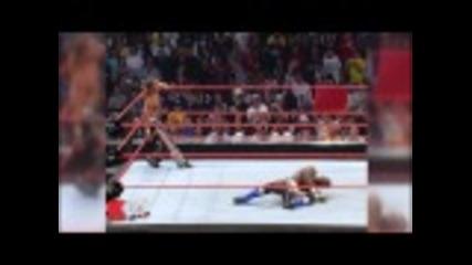 Shelton Benjamin vs. Shawn Michaels