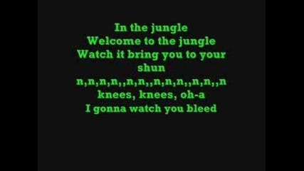 Guns N' Roses-welcome to the Jungle