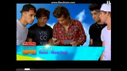 One Direction - Best Song Ever Teen Beach Movie Disney Premier Winners!