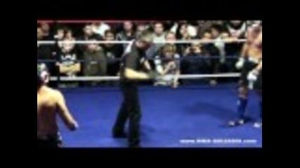 Борис Грънчаров срещу Владислав Кънчев - 78 кг (аматьорското Мма състезание)