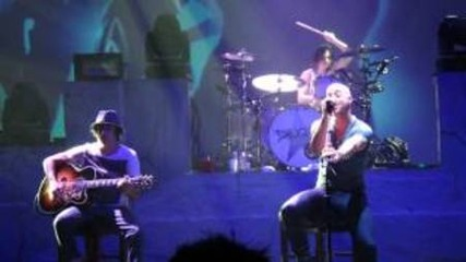 Daughtry - Rescue me live (акустична версия)