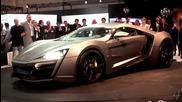 Lykan Hypersport World Debut - Dubai Motor Show 2013