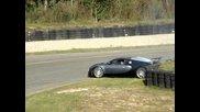 Bugatti Veyron Ето какво става със много газария :д :д