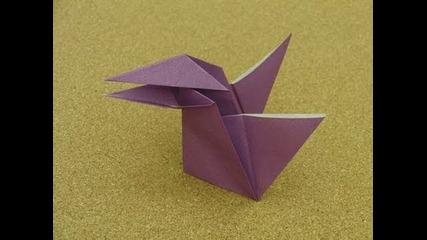Daily Origami: 003 - Talking Crow
