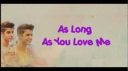 Justin Bieber - As Long As You Me Ft. Sean (lyrics)