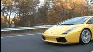 Street Race - Lamborghini Gallardo vs Ferrari 550 Maranello