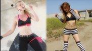 Peaches & Shizuka Dance Montage - Slug Street Scrappers 2 Bts (obsidia Dubstep)