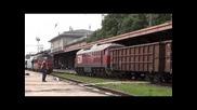 07 061 с Лтв пристига в Шумен и 45 191 с Бв 2655 заминава