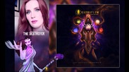 Simone Simons ft. Dani Filth - 'the Creator and the Destroyer
