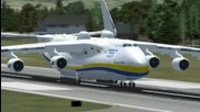 Fsx an 225 take off