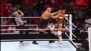 Big Show vs Cody Rhodes Intercontinental Championship Match Wwe Raw 5/7/12