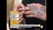 Mariah Carey Spotlight Marquise Cluster Silvertone 8-1/2...