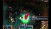 League of Legends Yorick Baron solo lvl 14
