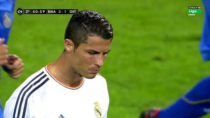 Cristiano Ronaldo Vs Getafe