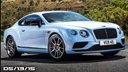 New Bentley Continental Gt, 2016 Camaro Teasers, Jaguar Xe Svr - Fast Lane Daily