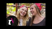 Olivia Holt and Her Bestie Gracie Benward at Disneyland -- Besties -- Teen Vogue