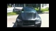 2011 Bmw X6 M wrapped in Matte (flat) Black by Dbx