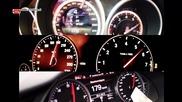di Rs6 vs Bmw M5 vs Mercedes E63 S