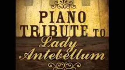 Need You Now - Lady Antebellum Piano