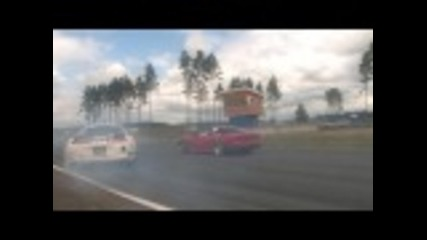 Best Drift Overtake ever! Toyota Supra
