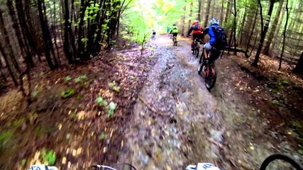 По билото на Стара планина - Uhd 4k Render / Shot in 2.7k - Mountain biking in Bulgaria