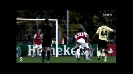 Top 5 goals Champions League 2012