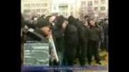 Bulgarian nazi hooligans riot in Sofia