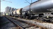 Бжк с локомотиви 87 029 и 87 013 през Шумен