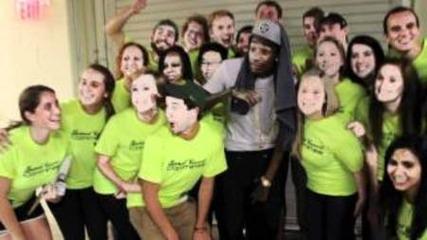 Wiz Khalifa Meets Students..
