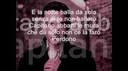Perdono tiziano ferro lyric (learn italian singing)
