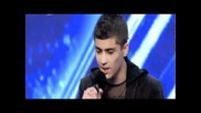 Zayn Malik - First Audition Х фактор