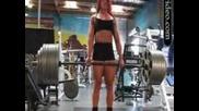 Жена Вдига 400 кг. Щанга - Такова Нещо не сте Виждали - Без Коментар - Супер Мускули - Яко е